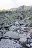 Camino de la montaña Foto de archivo