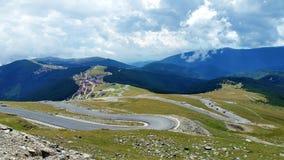 Camino de la montaña de la bobina Foto de archivo libre de regalías