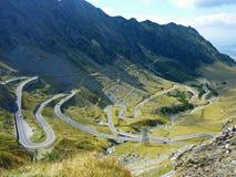 Camino de la montaña de la bobina Fotografía de archivo