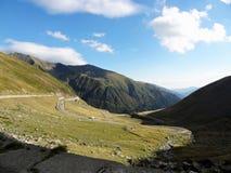 Camino de la montaña de la bobina Foto de archivo