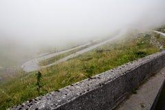 Camino de la montaña del misterio imagen de archivo libre de regalías
