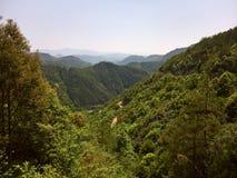 Camino de la montaña en China meridional fotografía de archivo