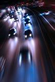 Camino de la noche Fotos de archivo libres de regalías