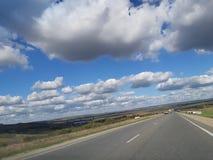 Camino de la nube fotos de archivo