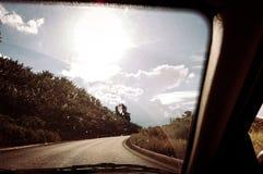 Camino de la opinión del ` s del pasajero fotografía de archivo libre de regalías