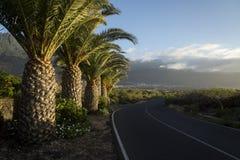 Camino de la palma a Frontera Foto de archivo