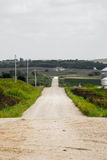 Camino de la parte posterior de Iowa Fotografía de archivo libre de regalías