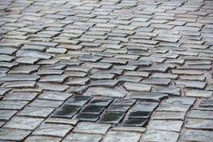 Camino de la piedra de pavimentación Imagen de archivo