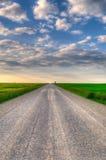 Camino de la pradera foto de archivo libre de regalías