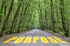 Camino de la selva al propósito fotografía de archivo libre de regalías