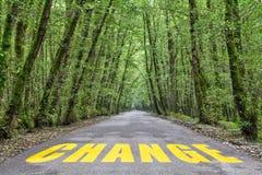 Camino de la selva a cambiar fotografía de archivo