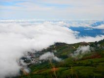 Camino de la serpiente en montaña fotografía de archivo libre de regalías