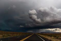 Camino de la tempestad de truenos Foto de archivo libre de regalías