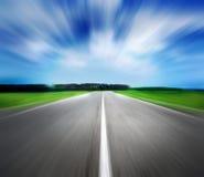 Camino de la velocidad imagenes de archivo