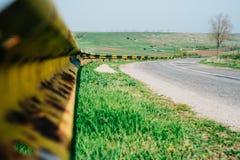Camino de las colinas del campo foto de archivo libre de regalías