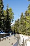 Camino de las montañas Fotografía de archivo libre de regalías