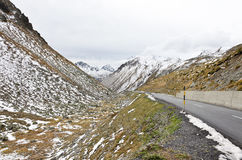Camino de las montañas Fotos de archivo