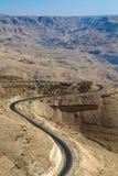 Camino de los reyes - Jordania Fotos de archivo libres de regalías