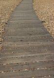 Camino de madera imagenes de archivo