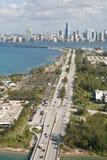 Camino de Miami Imagen de archivo libre de regalías