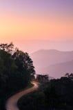 Camino de Moutain Fotografía de archivo