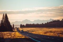 Camino de Nueva Zelanda Foto de archivo