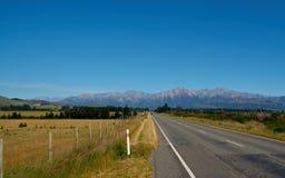 Camino de Nueva Zelanda Imagen de archivo libre de regalías