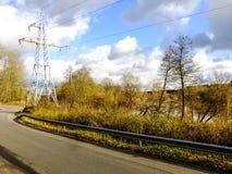 Camino de octubre Fotografía de archivo