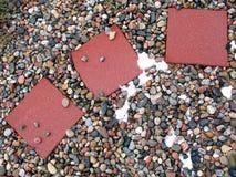 Trayectoria de piedra Fotos de archivo
