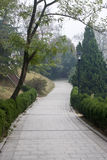 Camino de piedra al aire libre Imagenes de archivo