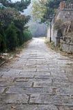 Camino de piedra al aire libre Imágenes de archivo libres de regalías