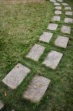 Camino de piedra de las losas Imagen de archivo libre de regalías