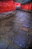 Camino de piedra del enrollamiento Fotos de archivo libres de regalías
