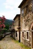 Camino de piedra en una aldea Imagen de archivo libre de regalías