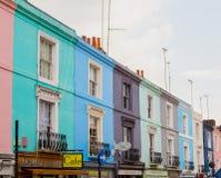 Camino de Portobello en Londres Foto de archivo libre de regalías