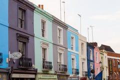Camino de Portobello en Londres Imagen de archivo libre de regalías