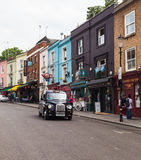 Camino de Portobello en Londres Imagen de archivo