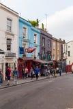 Camino de Portobello en Londres Imágenes de archivo libres de regalías