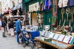 Camino de Portobello en Londres, Reino Unido fotografía de archivo libre de regalías