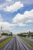 Camino de Presidente Dutra - el Brasil Imagen de archivo