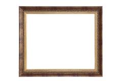 Camino de recortes aislado vacío del marco Imagen de archivo libre de regalías