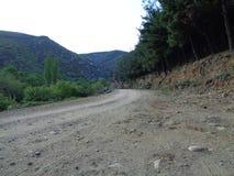 Camino de tierra foto de archivo