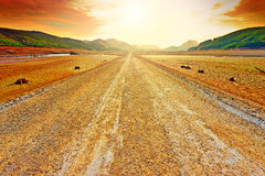 Camino de tierra Imagen de archivo