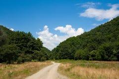 Camino de tierra del país Imagen de archivo libre de regalías