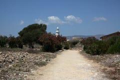 Camino de tierra en Chipre Fotos de archivo