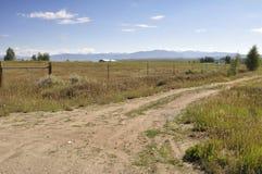 Camino de tierra en Colorado Imagen de archivo libre de regalías