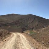 Camino de tierra de la mucha altitud Foto de archivo