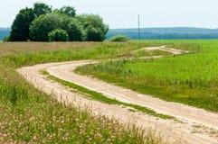 camino de tierra de la suciedad foto de archivo libre de regalías