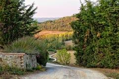 Camino de tierra - Uopini Imagenes de archivo