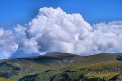 Camino de Transalpina, Rumania Imagen de archivo